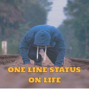 One Line Status On Life : 101+ Best inspirational status in marathi